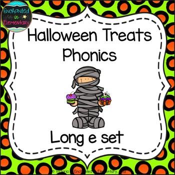 Halloween Treats Phonics: Long E Pack