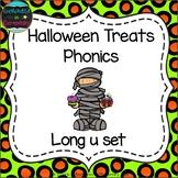Halloween Treats Phonics: Long U Pack