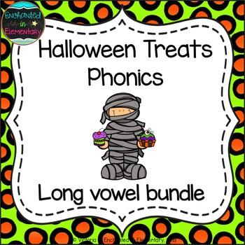 Halloween Treats Phonics: Long Vowel Bundle