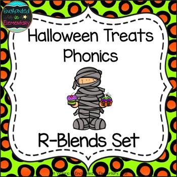 Halloween Treats Phonics: R-Blends Pack
