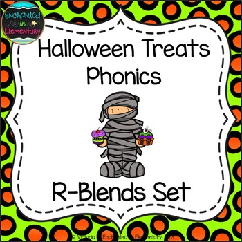 Halloween Treats Phonics: R-Blends Pack