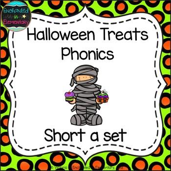 Halloween Treats Phonics: Short A Pack