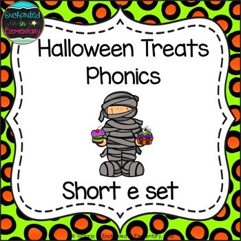 Halloween Treats Phonics: Short E Pack