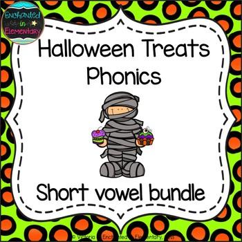 Halloween Treats Phonics: Short Vowel Bundle