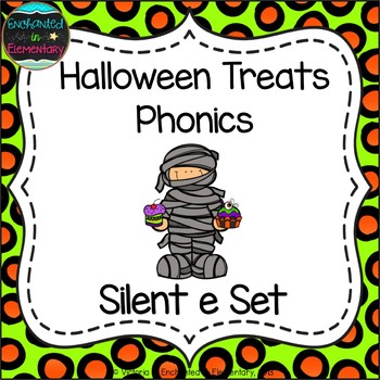 Halloween Treats Phonics: Silent E Words Pack