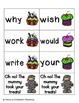 Halloween Treats Sight Words! Second Grade List Pack