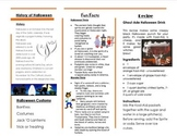 Halloween Tri-Folding Brochure Project using Publisher Template