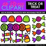 Halloween Trick-Or-Treat Candy Clip Art (Digital Use Ok!)