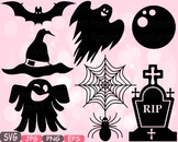 Halloween Trick Or Treat Witch boo bat Spiderweb Tshirt hat rip clipart svg 487s