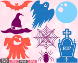 Halloween Trick Or Treat Witch boo bat Spiderweb Tshirt hat rip clipart svg 490s