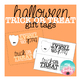 Halloween Trick or TREAT Gift Tags