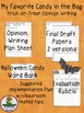 Halloween Trick-or-Treat Candy Opinion Writing