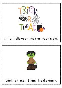 Halloween Trick or Treat Easy Reader