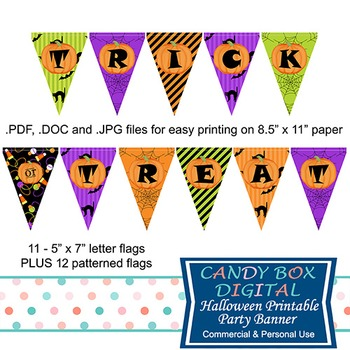 Halloween Trick-or-Treat Full-Size Banner