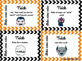 """Halloween """"Trick or Treat"""" Game"""