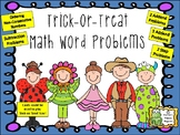 Halloween Trick-or-Treat Math Word Problems