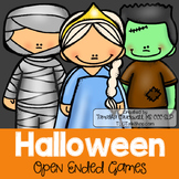Halloween Trick or Treat: Open-Ended Games