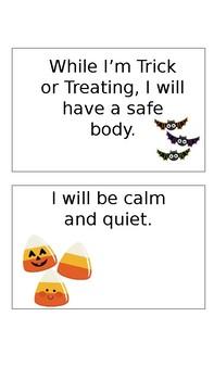 Halloween (Trick or Treat) Social Narrative