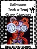 Halloween: Trick or Treat Story Starters for Writing {Black and White Edition}