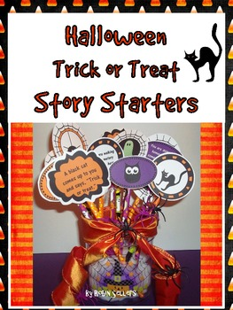 Halloween: Trick or Treat Story Starters for Writing ...