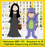 Halloween FREE ABC 123
