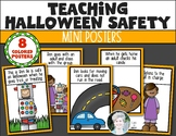 Halloween Trick or Treating Safety Mini Posters for Kinder