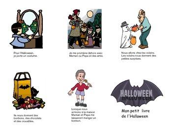 Halloween Trick or treat histoire sociale (en français)