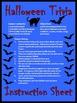 Halloween Games Activities: Halloween Trivia Card Game