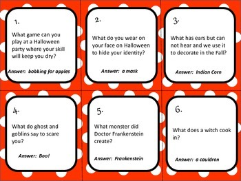 Halloween Trivia Board Game