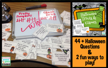 Halloween Trivia Questions & Games by Mia McDaniel | TpT