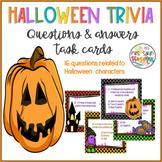 Halloween Trivia - Quiz Task Cards