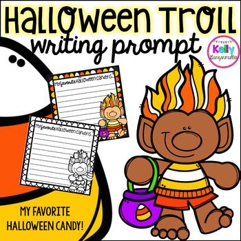 Halloween Trolls Writing Prompt Freebie
