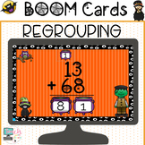 Halloween Math Two Digit Addition With Regrouping BOOM Cards