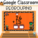 Halloween Math Two Digit Addition With Regrouping Google C