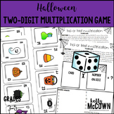 Halloween Two Digit Multiplication Game