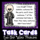 Halloween Two-Step Word Problem Task Cards