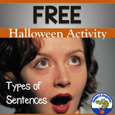 Halloween Types of Sentences Activity FREE