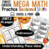 Halloween Understanding Place Value First Grade Number Sen