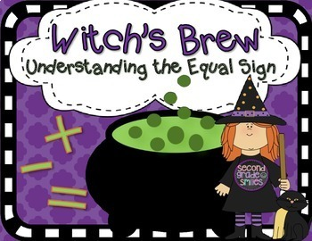 Halloween Understanding the Equal Sign (True and False Equations)
