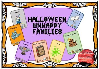 Halloween Unhappy Families