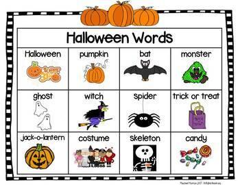 Halloween Unit:  Centers & Activities