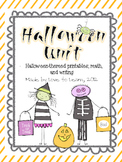 Halloween Unit - Fun Printables, Math, and Writing