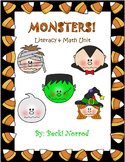 Halloween Unit (Reading, Math, Writing, and Art unit)