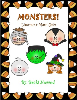 Halloween Monsters Unit (Reading, Math, Writing, and Art unit)