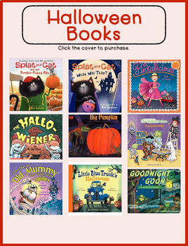 Halloween Resources: books, websites, & videos