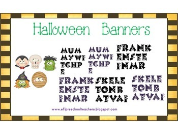 Halloween Unit for English Language Learners