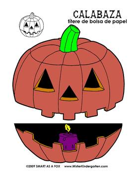 Halloween Unit in Spanish