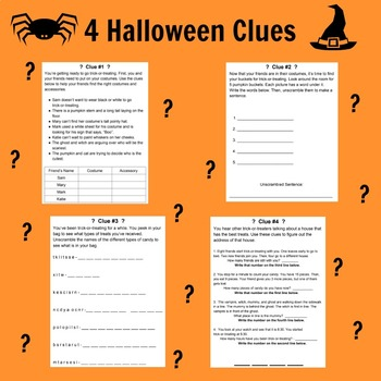 Halloween Unlock the Box Mystery
