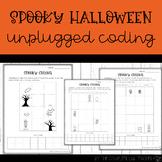 Halloween Unplugged Coding