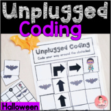 Halloween Unplugged Coding Activity for Beginners (English